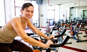Shape-Up Fitness Center: 5 or 10 Spin or Soul Spin Classes at Shape-Up Fitness Center (Up to 67% Off)