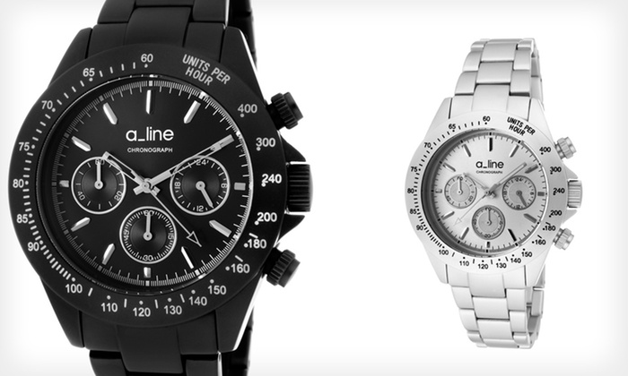 Women's A_line Amore Watch: $44.99 for a Women's A_line Amore Watch in Black/Aluminum or Silver/Aluminum ($495 List Price)