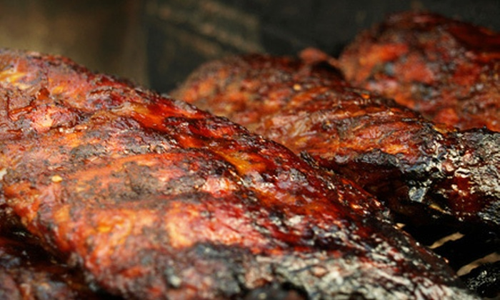 Smokey Stax BBQ Catering - Hingham: $995 for Catered Barbecue Package for 50 from Smokey Stax BBQ Catering (Up to $2,175 Value)