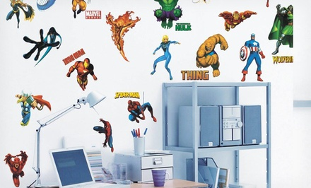 Marvel Heroes Peel-and-Stick Wall Decals