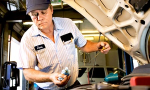 Pitstop Lube and Tune: One or Three Oil-Change Packages or One Emissions Inspection Package at Pitstop Lube and Tune (Up to 79% Off)