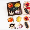 $12.99 for a Cake and Vegetable Magnetic Cookbook Set
