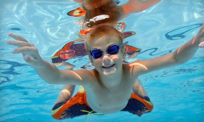 Waterworks on Wheels - Multiple Locations: Eight Swim Lessons for One or Two Children at Waterworks on Wheels (Up to 55% Off)