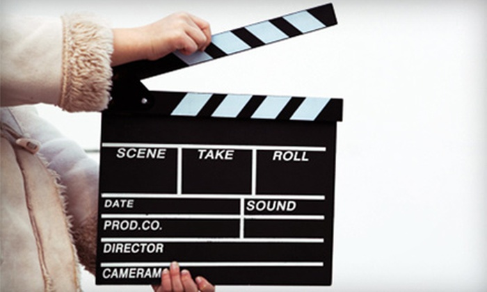 Popcorn Media - Multiple Locations: One-Day Movie Star Workshop or a One-Week Movie Star Camp for Kids at Popcorn Media (Up to 57% Off)