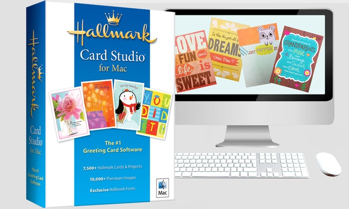 Hallmark Card Studio Software: Hallmark Card Studio for Mac or PC from Hallmark Software (Half Off)
