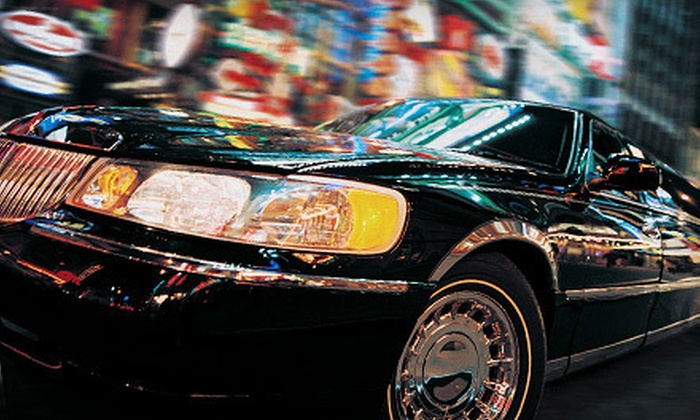 Time Limo - San Diego: One-Way or Round-Trip Airport Transportation in Town Car or SUV from Time Limo (Up to 56% Off)