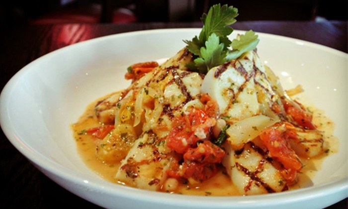 Vee Lounge Restaurant & Bar - Downtown Fort Worth: Three-Course New American Dinner for Two or $15 for $30 Worth of Brunch at Vee Lounge Restaurant & Bar