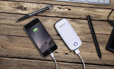 Avier P40 4,000mAh Portable USB Battery Pack for Smartphones