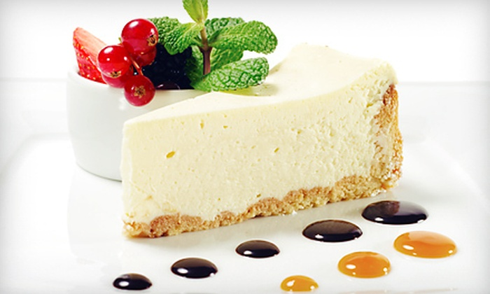Form - Thomas Square: Cheesecake and Gourmet Foods at Form (Half Off). Two Options Available.