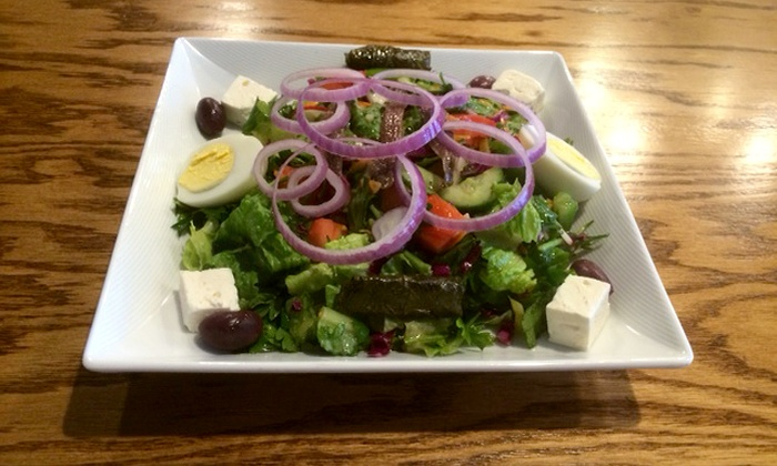 Zaghloul Grill - New Dorp: $12 for $20 Worth of Mediterranean Cuisine for Dine-In of Take-Out at Zaghloul Grill