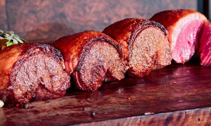 Texas De Brazil - Downtown: $43 for a Brazilian Steak-House Dinner for Two on Friday–Saturday or Sunday–Thursday at Texas de Brazil ($85.98 Value)