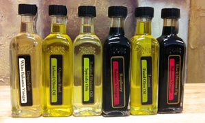 Oh, Olive!: $10 for $20 Worth of Olive Oil and Balsamic Vinegar Sample Bottles at Oh, Olive!