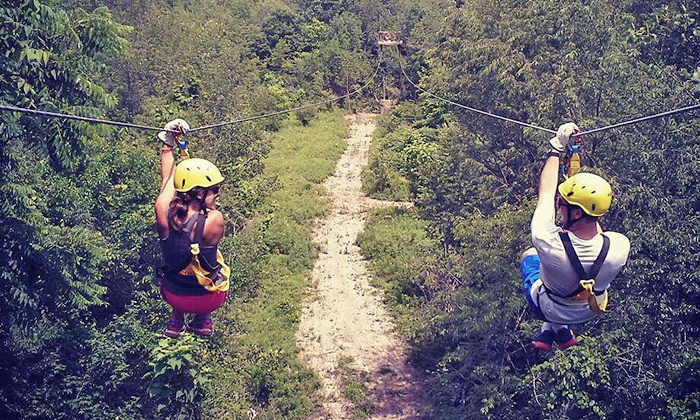 White River Zip Lines - White River Zip Lines: Three-Hour Tour for Two, Four, or Six at White River Zip Lines (55% Off)