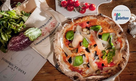Menu pizza e birra no limits con antipasto e dolce da Tomoko Tudini vicino a metro Cavour (sconto fino a 78%)
