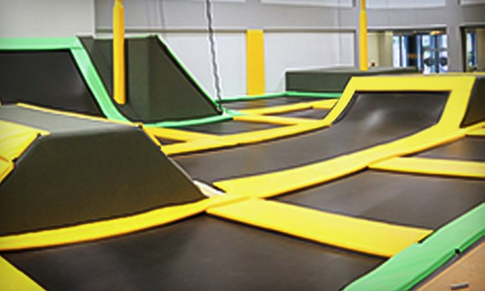 Get Air Temecula - Get Air Temecula Trampoline Park: Two Hours of Trampolining for Two or Four at Get Air Temecula (Up to 63% Off). Four Options Available.