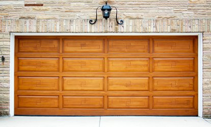 image for Garage-Door Reconditioning with Optional Keyless-Entry System Installation (Up to 60% Off)