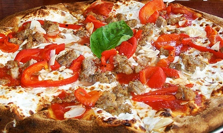 Pizzeria Cuisine from Goodfella's Brick Oven Pizza (Up to 50% Off). Three Options Available.