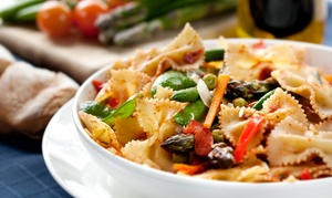 Mendocino Italian Bistro: Italian Cuisine at Mendocino Italian Bistro (Up to 40% Off). Two Options Available.