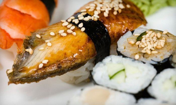 Oki Japanese Steak House - North Providence: Hibachi and Sushi at Oki Japanese Steak House (Up to 53% Off). Two Options Available.