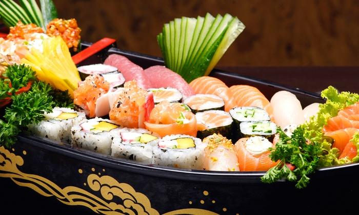Mt. Fuji Sushi Bar and Japanese Cuisine - Sandy: $12 for $22 Worth of Sushi and Japanese Cuisine at Mt. Fuji Sushi Bar and Japanese Cuisine