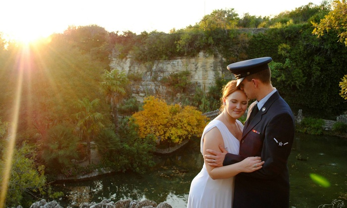 Beyond Memory - San Antonio: 180-Minute Engagement Photo Shoot with Wardrobe Changes and Digital Images from Beyond Memory (45% Off)