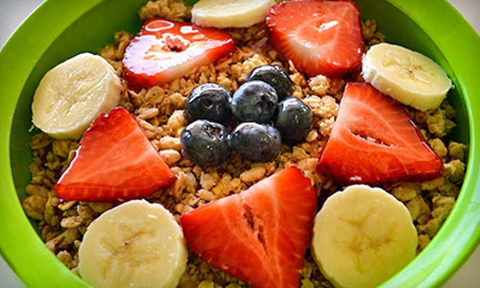 Thrive Acai Bowls & Smoothies  - Multiple Locations: Acai Bowls and Smoothies at Thrive Acai Bowls & Smoothies (Half Off). Two Options Available.