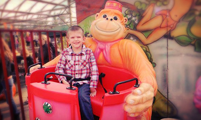 Art Knapp's Funland - Port Coquitlam: 10 or 20 Tickets for Harvest-Festival Activities Valid on Weekdays or Weekends at Art Knapp's Funland (Half Off)