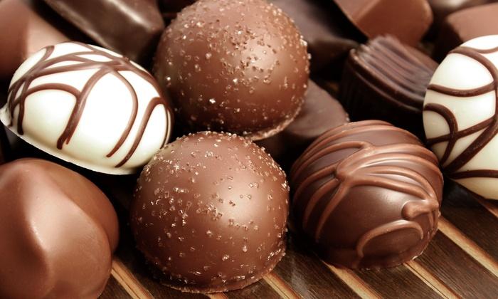 Newtown Chocolatier - Newtown: 48- or 28-PieceBox of Chocolate at Newton Chocolatier (50% Off)