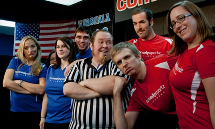 ComedySportz Improv Theatre - Brookland: $24 for an Improv Comedy Show for Four at ComedySportz Improv Theatre (Up to $44 Value)