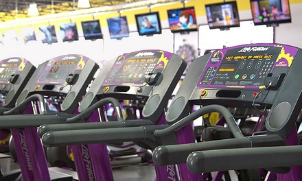 One-Month Black Card Membership to Planet Fitness (83% Off)