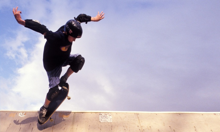 Drop In Skatepark - New Lenox: $8 for $15 Worth of Skateboarding — Drop In Skatepark