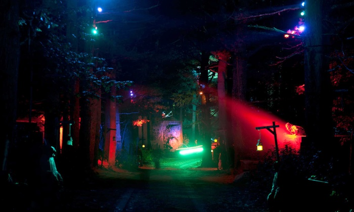 Witch's Woods - Westford: Haunted Hayride and Halloween Scream Park for Two or Four at Witch's Woods (Up to 41% Off)