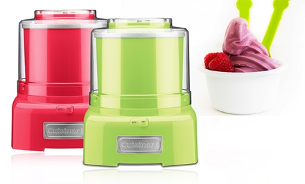 Cuisinart Automatic Frozen Yogurt, Ice Cream, and Sorbet Maker in Key Lime or Watermelon. Free Returns.