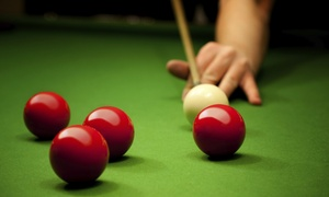 147 Snooker Club: Two Hours of Snooker and Combo Meals for Up to Eight at 147 Snooker Club (Up to 58% Off)