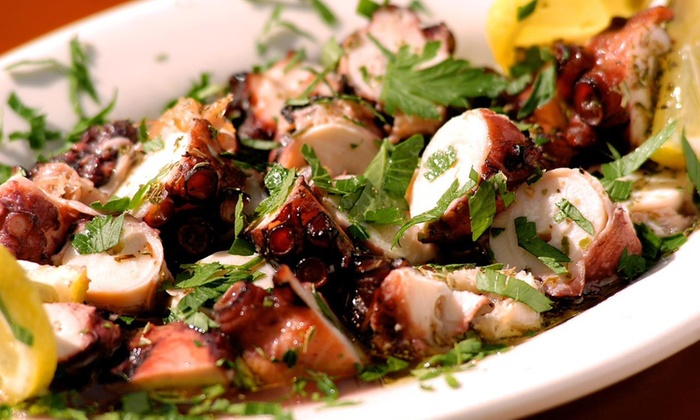 Taverna Kyma - Delray Manors: Greek Cuisine at Taverna Kyma (44% Off). Four Options Available.