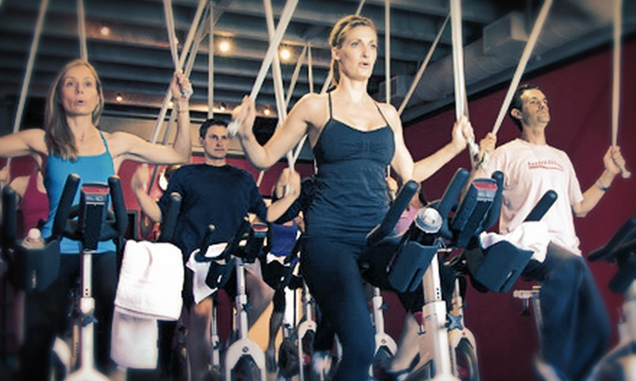 Defy Gravity - Corona Del Mar: 5 or 10 Group Cycling or Pilates Classes at Defy Gravity in Corona Del Mar (Up to 75% Off)
