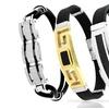 ReLex Men's Stainless Steel Leather or Rubber ID Bracelet