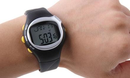 Orologio sport 6 in 1 con calcolo del battito cardiaco e delle calorie a 9,99 € (90% di sconto)