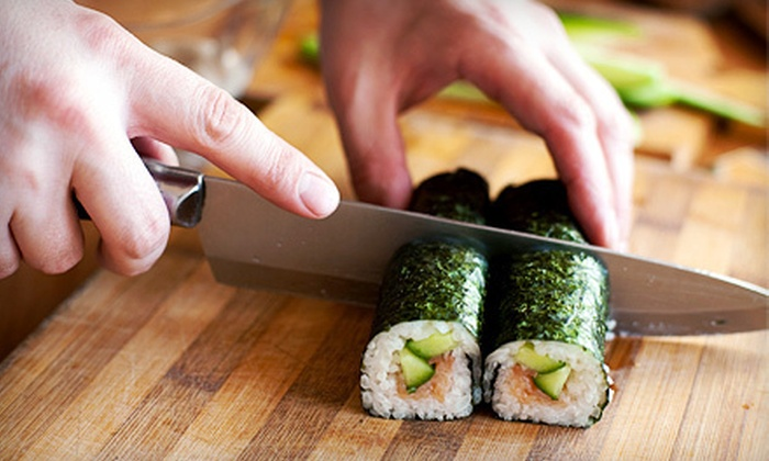 Capital Asian Buffet - Townhomes of Shadow Glen: BYOB Sushi-Making Class for One, Two, or Four at Capital Asian Buffet (Up to 63% Off)
