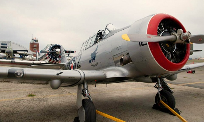 American Airpower Museum - East Farmingdale: Visit for Two Adults and Up to Two Children to the American Airpower Museum (50% Off)