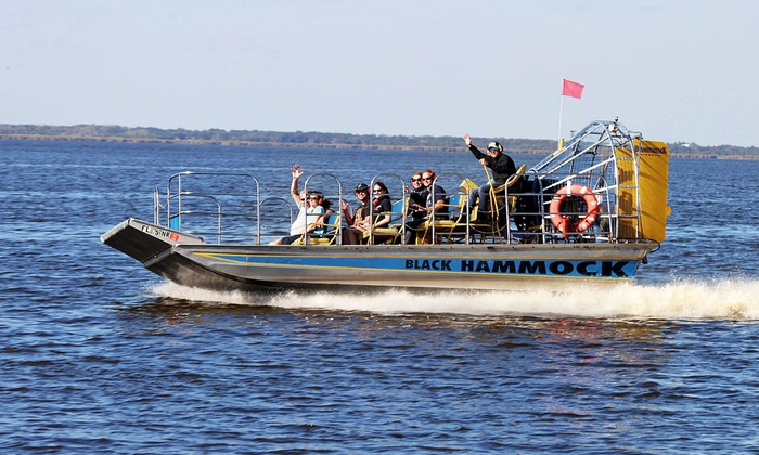 Black Hammock Adventures - Black Hammock: 30-Minute Airboat Tour For One or Two from Black Hammock Adventures (Up to 47% Off)