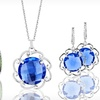 Up to 89% Off Colored Cubic-Zirconia Jewelry