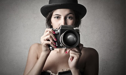 Curso intensivo de fotografía de iniciación para 1 o 2 personas desde 19,90 €