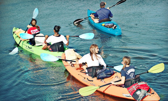 Native Rentals - Bradenton: Two-Hour Kayak Expedition for Two or Four from Native Rentals in Bradenton (Up to 53% Off)