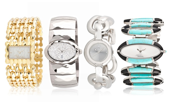 Roberto Cavalli Women's Watches: Roberto Cavalli Women's Watches. Multiple Styles from $109.99–$174.99.