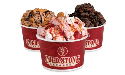 $11 for $20 Worth of Ice Cream or Cake at Cold Stone Creamery