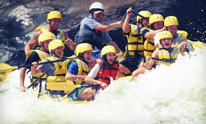 River Expeditions - Oak Hill: $81 for Two-Night Rafting and Camping Trip on the New River at River Expeditions (Up to $148.10 Value)
