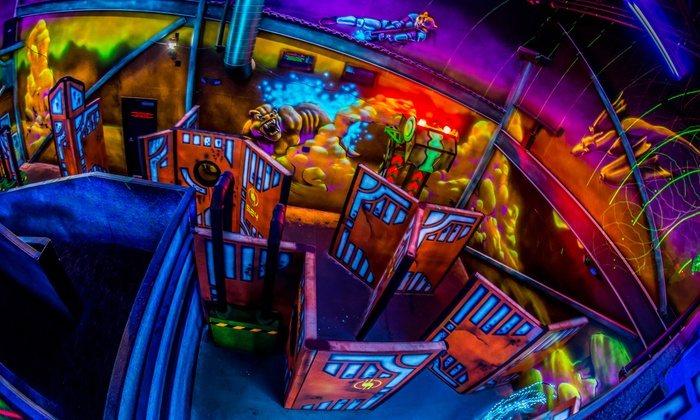 Chipper's Lanes - Multiple Locations: Bowling and Laser Tag Packages at Chipper's Lanes (Up to 48% Off). Five Options Available.