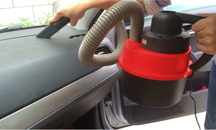 Wet/Dry Auto Vacuum with LED Lights