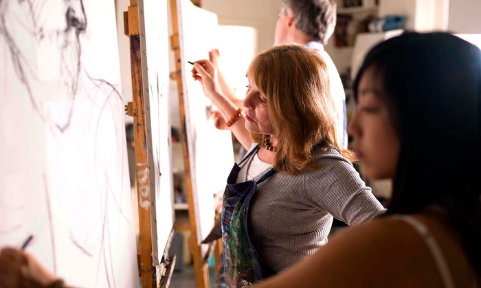 Smartistic - Mid-Wilshire: One or Three Group or Private Art Classes at Smartistic (Up to 57% Off)